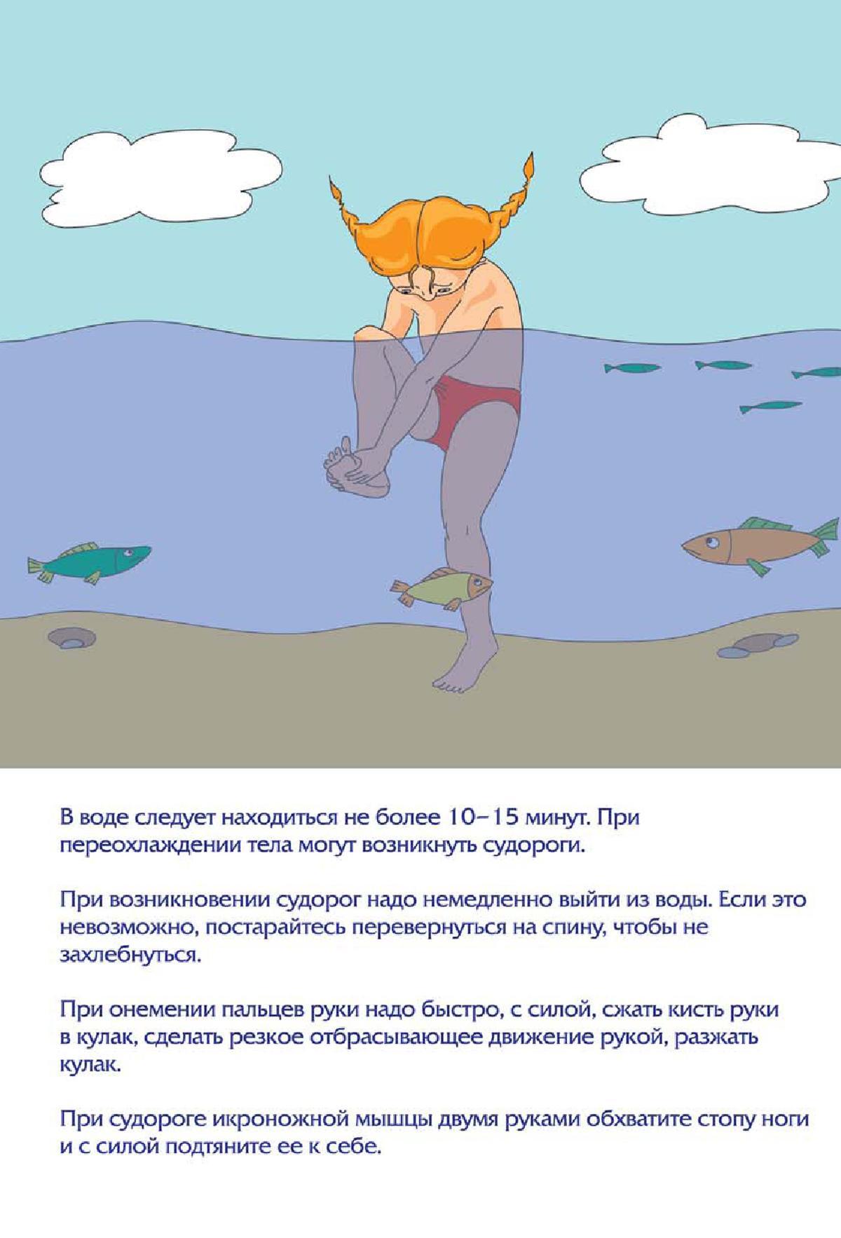 Внимание! Напоминаем правила нахождения у водоёмов